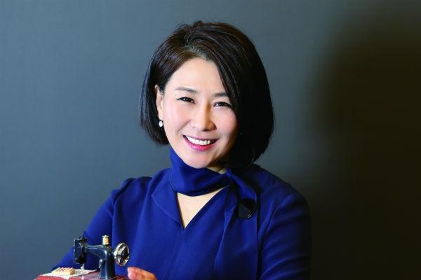 김은희 싱거코리아 이사 겸 한국소잉디자이너협회 회장.